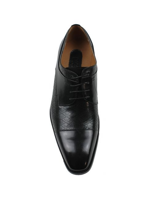 Dice Black Kelsey Lace-Up Shoe
