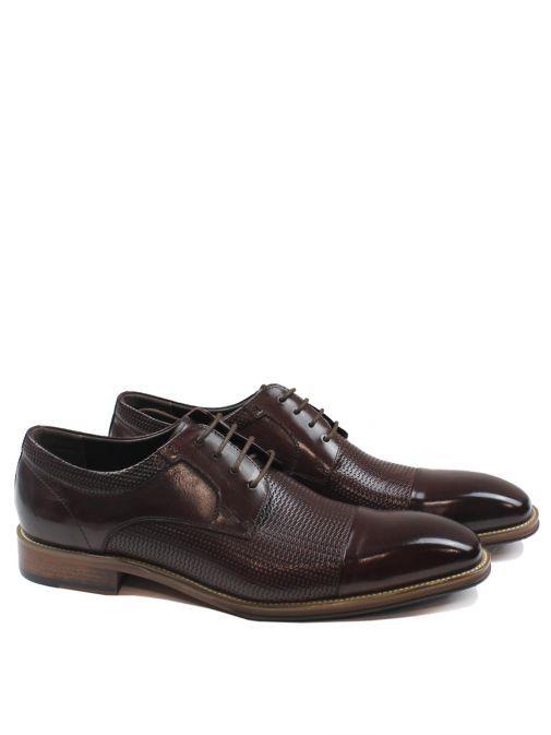 Dice Burgundy Toller Lace-Up Shoe 45D321 BURGUNDY