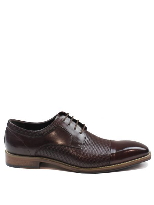 Dice Burgundy Toller Lace-Up Shoe