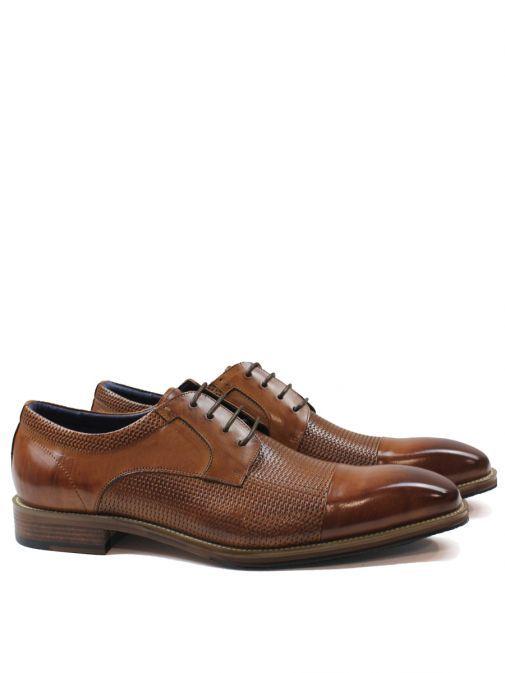 Dice Tan Toller Lace-Up Shoe 45D321 TAN