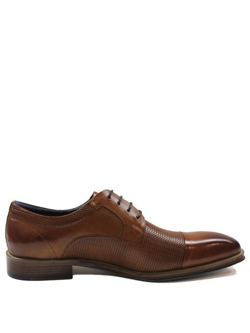 Dice Tan Toller Lace-Up Shoe