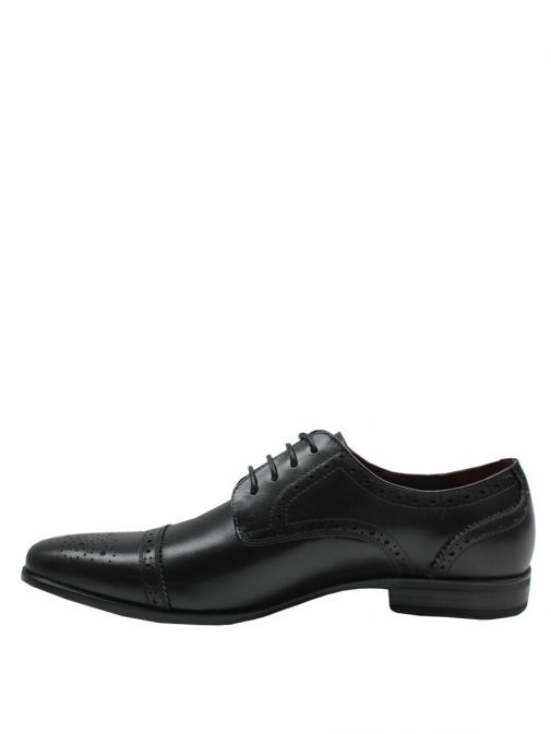 Dice Black Hayley Lace-Up Shoes
