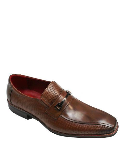 Dice Chestnut Blyth Slip On Shoes 45D344 CHESTNUT