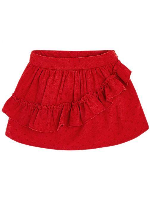 Mayoral Red Polka-Dot Skirt 4908 28