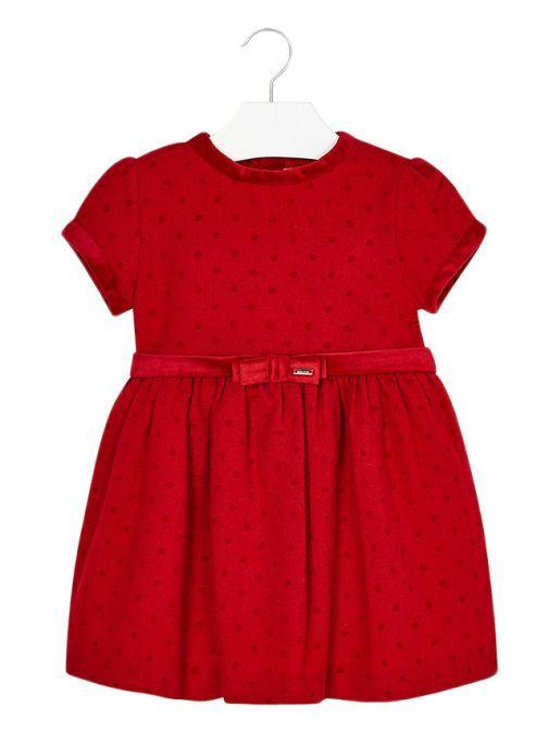 Mayoral Red Polka-Dot Dress 4950 28