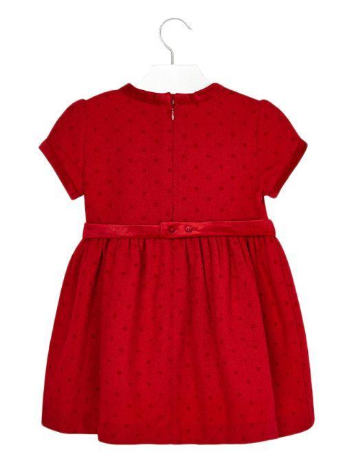 Mayoral Red Polka-Dot Dress