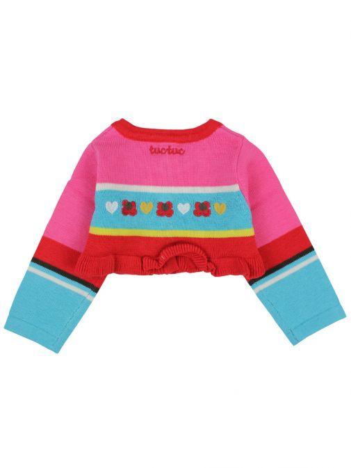 Tuc Tuc Rosa Multi Knit Bolero Cardigan