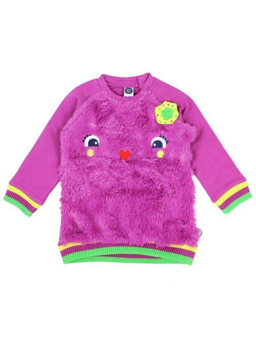 Tuc Tuc Purple Character Sweatshirt 50455 MARRON