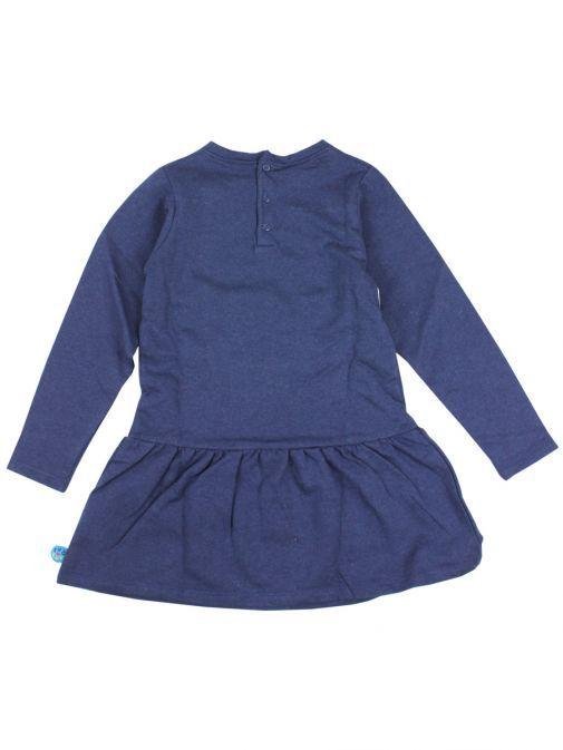 Tuc Tuc Navy Long Sleeve Peplum Dress