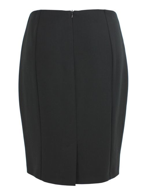 Taifun Black Straight Skirt