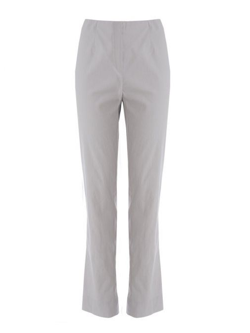Robell Grey Slim Fit Stretchy Trousers (Style: Marie)