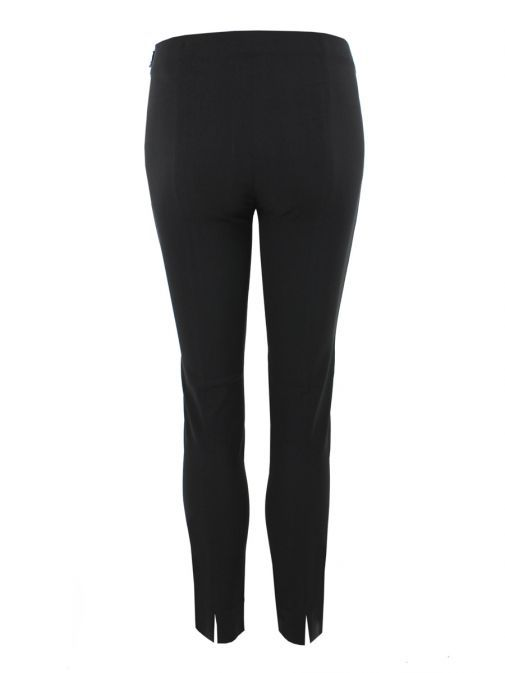 Robell Black Super Slim Fit Trousers (Style: Rose 09)