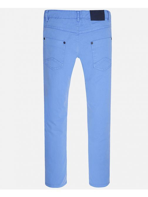 Mayoral Blue Basic Twill Trousers