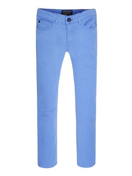 Mayoral Blue Basic Twill Trousers 520 34