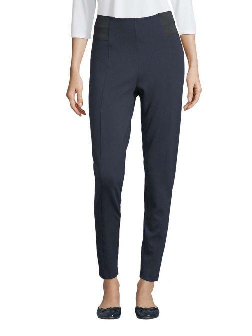 Betty Barclay Navy Slim Leg Pull-On Trousers