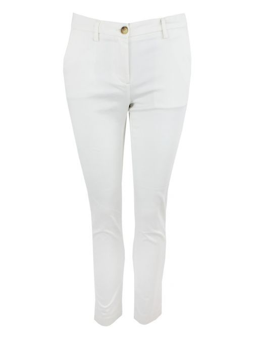 I Say Broken White Chino Deco Trousers 55071 101