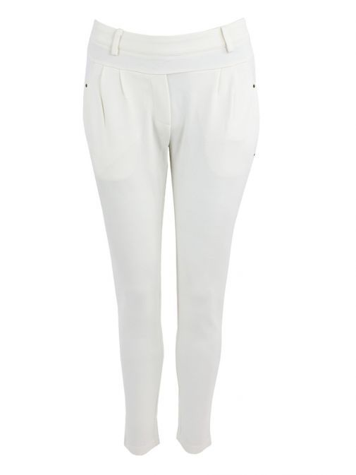 iSay Broken White Noa Trousers 55507 101