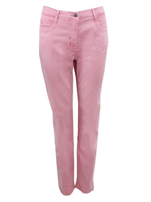 Betty Barclay Pink Perfect Body Slim Fit Trousers