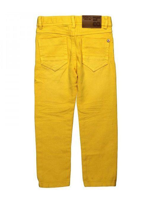 Boboli Boys Yellow Straight Fit Jeans 599014