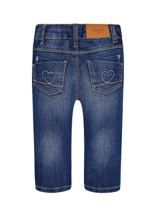 Mayoral Girls Dark Denim Jeans