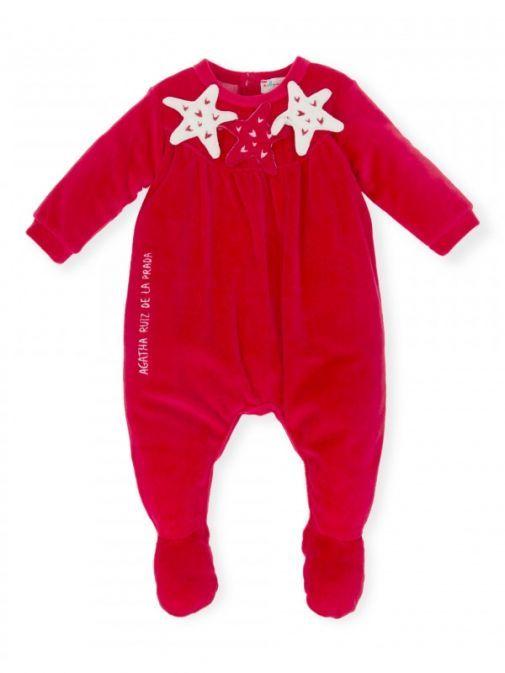 Agatha Ruiz De La Prada Red Babygrow 6193W18 - RED