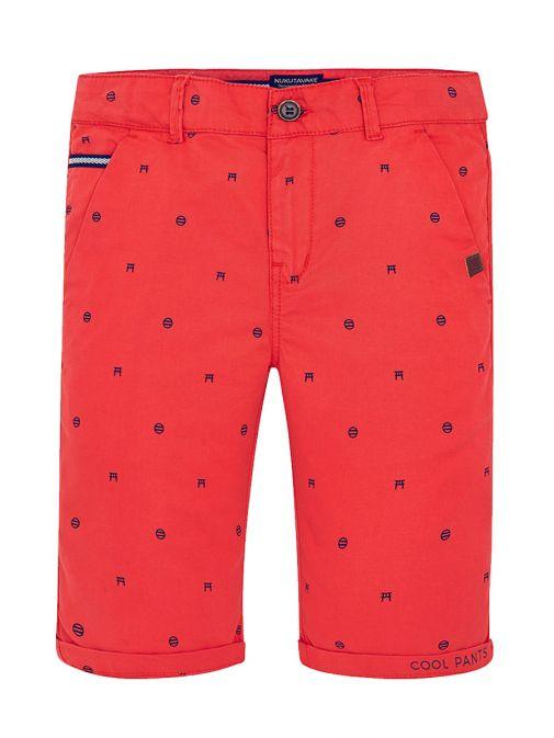 Mayoral Boys Red Twill Shorts 6234 48