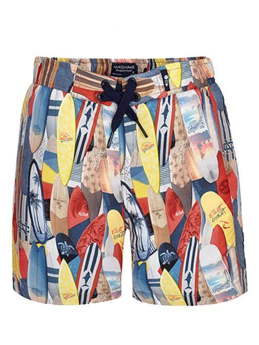 Mayoral Multicoloured Pattern Swim Shorts 6618 29