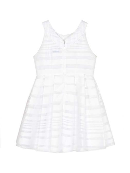 Mayoral White Floral Dress