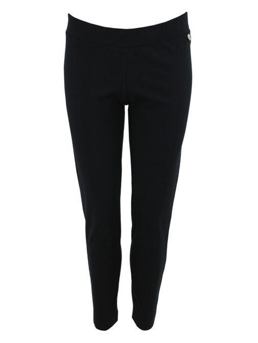 Mat Black Stretch Jersey Pants 698.2508 BLACK
