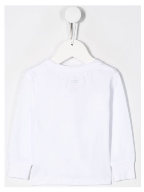 Levis White Logo Sweatshirt 6E8646/001-White
