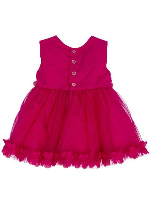 Agatha Ruiz De La Prada Fuchsia Sleeveless Tulle Dress