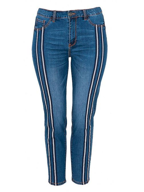 Mat Blue Denim Slim Fit Jeans 707.2024 DENIM