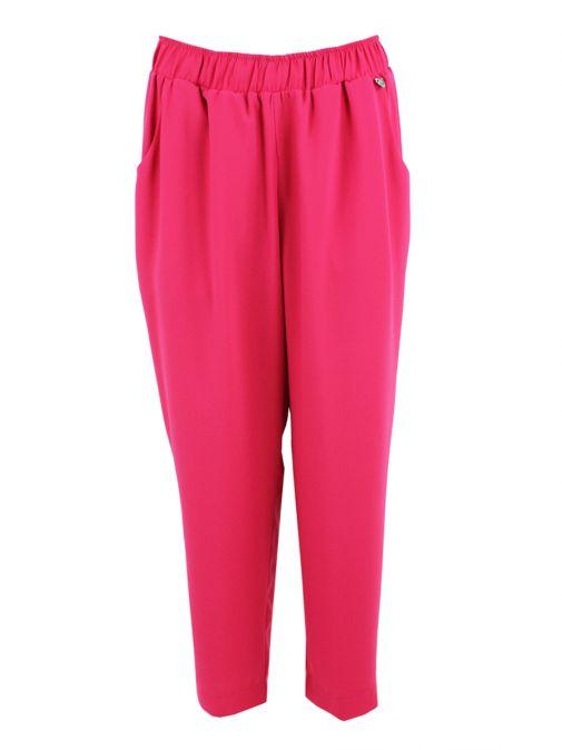 Mat Fuchsia Straight Trousers 711.2067.R FUCHSIA