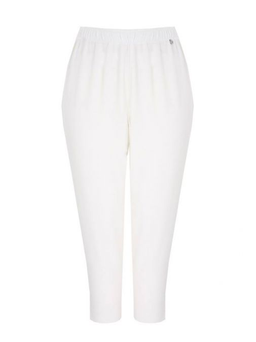Mat Off White Slim Trousers 711.2046