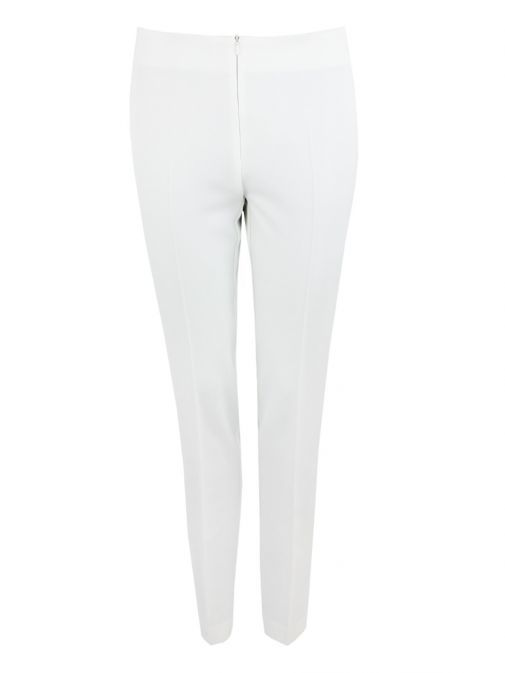 Tia Off-White Slim Fit Trousers 71208 12