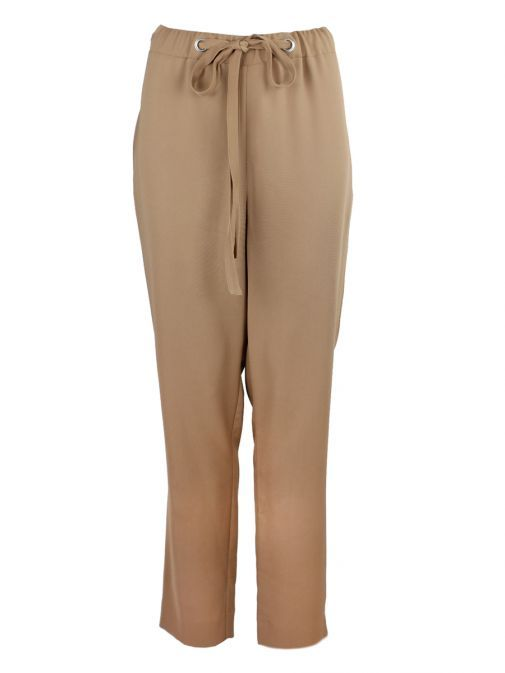 Tia Camel Drawstring Trousers 71248 29