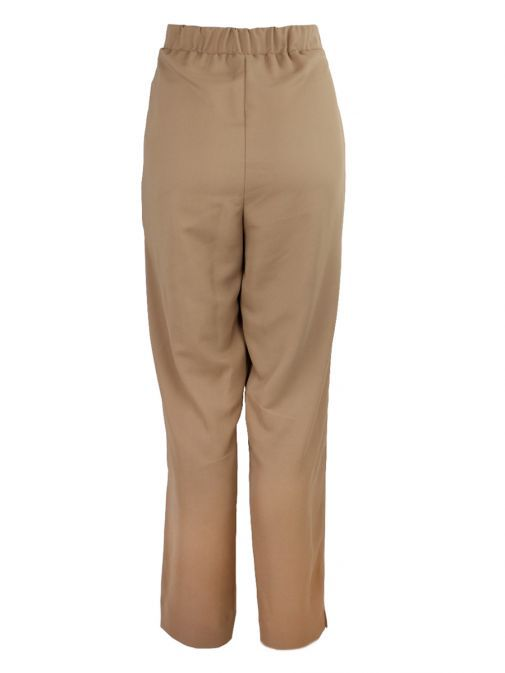 Tia Camel Drawstring Trousers