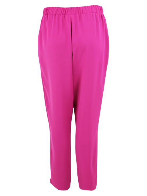 Tia Pink Tie Waist Trousers