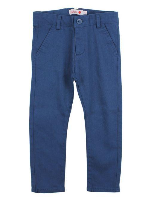 Boboli Navy Blue Chino Trousers