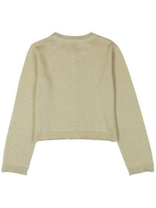 Boboli Sand Knitwear Cardigan