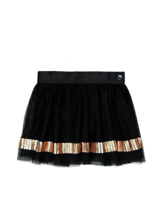 Boboli Black Tulle Skirt