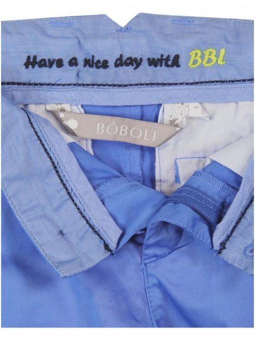 Boboli Blue Cotton Trouser 733081