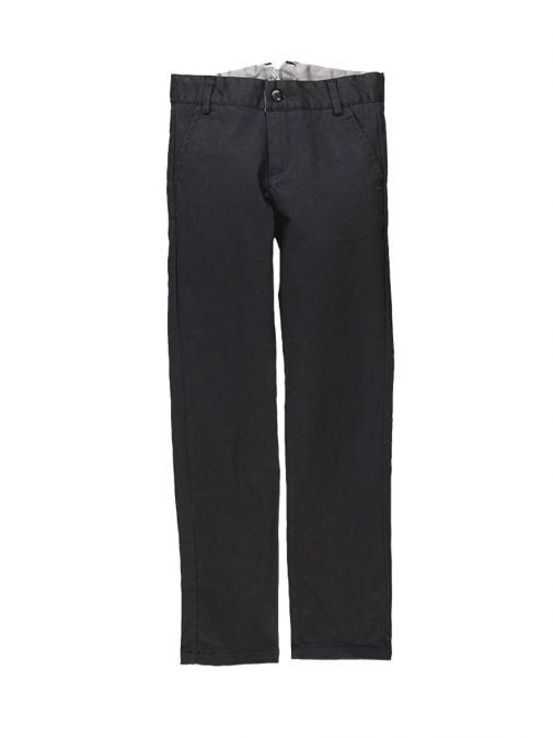 Boboli Black Stretch Satin Trousers 734059 890