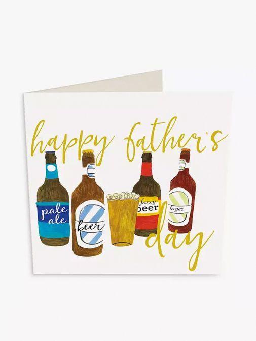 Image of Caroline Gardner Craft Beer Father's Day Card