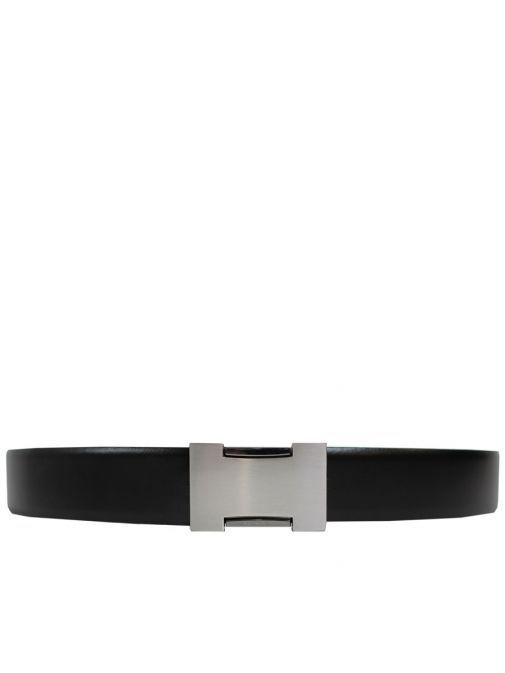 Dario Beltran Black Leather Belt CN35 9010/100
