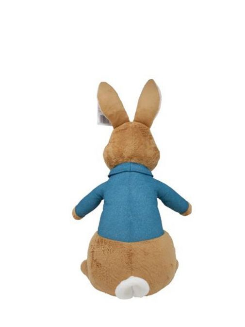 Back shot of Giant Movie Peter Rabbit Soft Toy