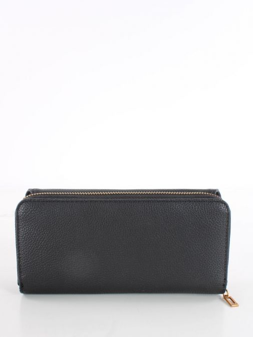 Back image of Guess Dayane Maxi Wallet in Black