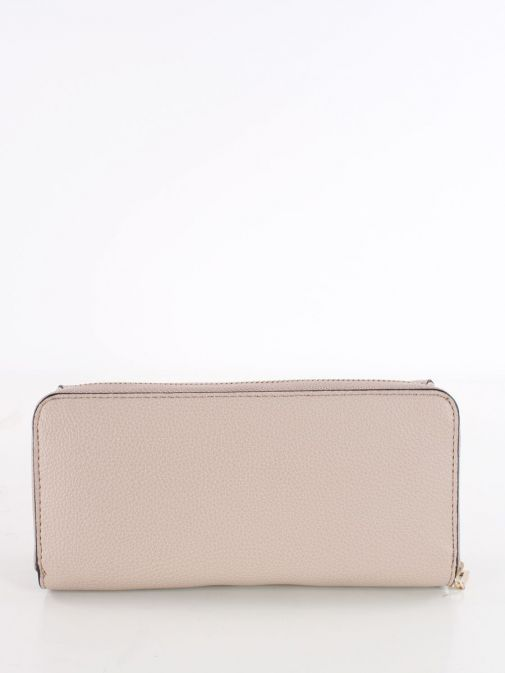 Back image of Guess Dayane Maxi Wallet in Taupe