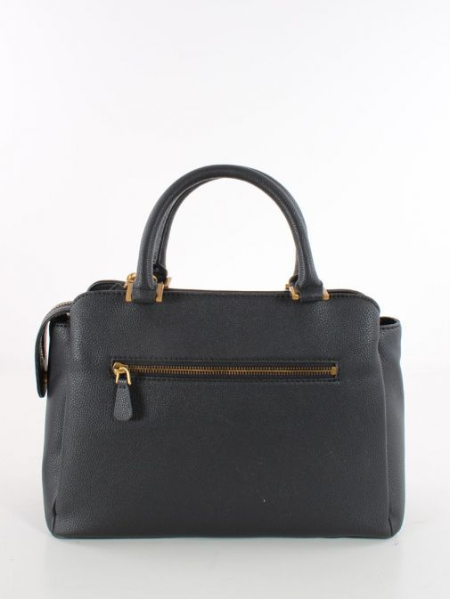 Back image of Guess Dayane Triple Compartment Handbag in Black