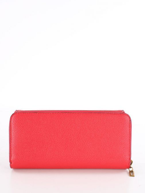 Back image of Guess Destiny Maxi Wallet in Red